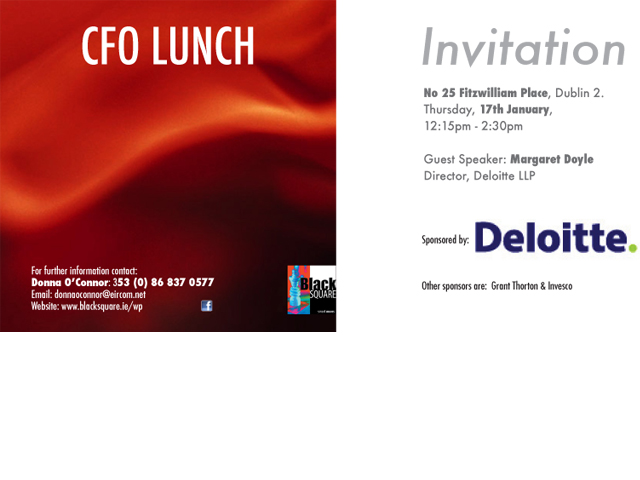 cfo lunch invite
